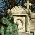 """Paris, Cimetiere du Pere Lachaise, Tombe de Cino del Duca et sa femme Simone """"©Hatuey Photographies"""""""