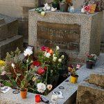 """Paris, Cimetiere du Pere Lachaise, Tombe Jim Morrison (1943-1971)""""©Hatuey Photographies"""""""