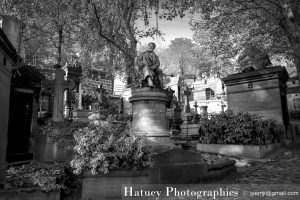 "Paris, Cimetiere du Pere Lachaise, Tombe de Edmond ABOUT ""©Hatuey Photographies"""