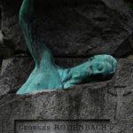 """©Hatuey Photographies, 1855-1898, Art Funéraire, BESNARD Charlotte (Sculpteur), bronze, Cemetery, Cimetière, Cimetière du Père Lachaise, cimitero, France, Friedhof, graveyard, Paris, Père Lachaise, Père-Lachaise, RODENBACH Georges, Sculpteurs, Statue , Photographies de la tombe de RODENBACH Georges (1855-1898) par """"©Hatuey Photographies"""""""