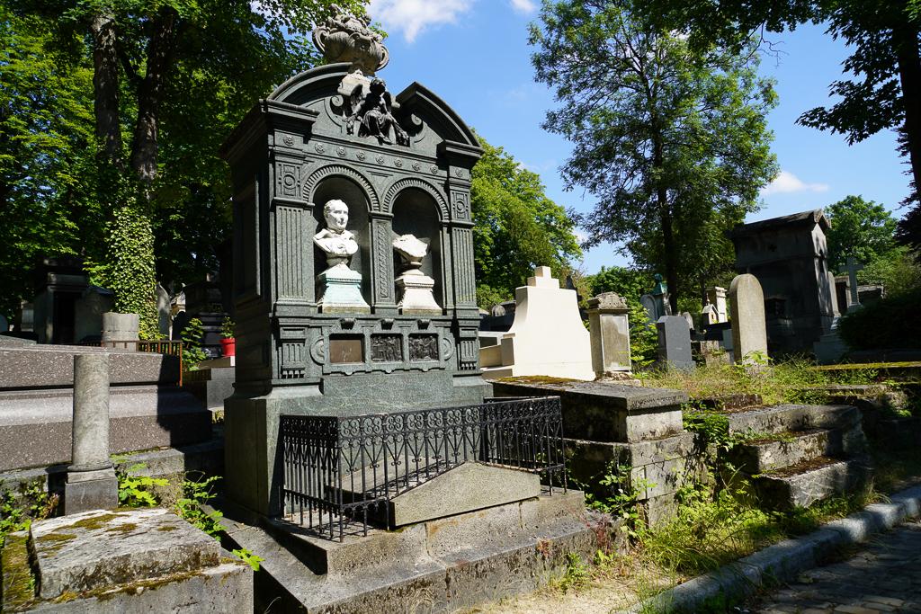 """Paris, Photographies de Paris, Cemetery, Graveyard, Cementerio, Cimitero, Friedhof , Cimetiere du Pere Lachaise , Photographies, Tombe de Charles CROZATIER """"©Hatuey Photographies"""""""