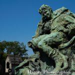 """Paris, Cimetiere du Pere Lachaise , Photographies de Paris, Cemetery Graveyard Cementerio Cimitero Friedhof , Cimetiere du Pere Lachaise , Photographies de la tombe de Jack FOURNIÉ D'ALIGNAN (1904-1916) par """"©Hatuey Photographies"""