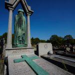 """Paris, Cimetiere du Pere Lachaise , Photographies de Paris, Cemetery Graveyard Cementerio Cimitero Friedhof , Cimetiere du Pere Lachaise , Photographies de la tombe de ROGER Raphaël (1847-1932) par """"©Hatuey Photographies"""