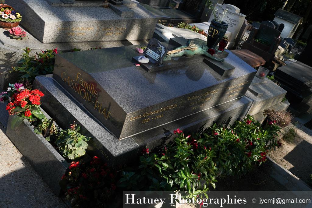 Art Funéraire, Cemetery, Cimetière, Cimetière du Père Lachaise, France, Friedhof, PIAF Edith, Paris, Père Lachaise, Père-Lachaise, cimitero, graveyard, ©Hatuey Photographies
