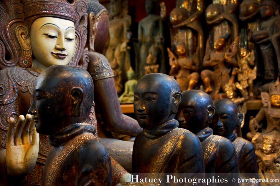 Myanmar Birmanie, Photographies 2015, Asie, Sculpture, Mandalay by © Hatuey Photographies