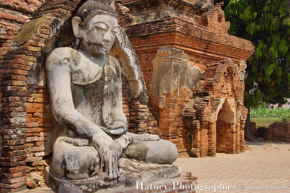 Asie, Myanmar,Ava, Mandalay Region, Yadana Hsemee Pagoda Complex, Photographies, by © Hatuey Photographies